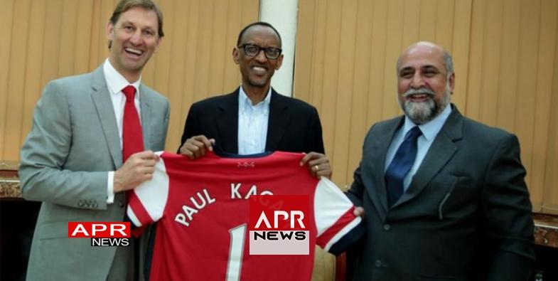 """Résultat de recherche d'images pour """"Le Rwanda et le club Arsenal"""""""