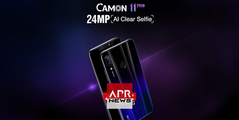 TECNO Mobile launches new Camon 11 Pro, 24MP clear selfie phone with