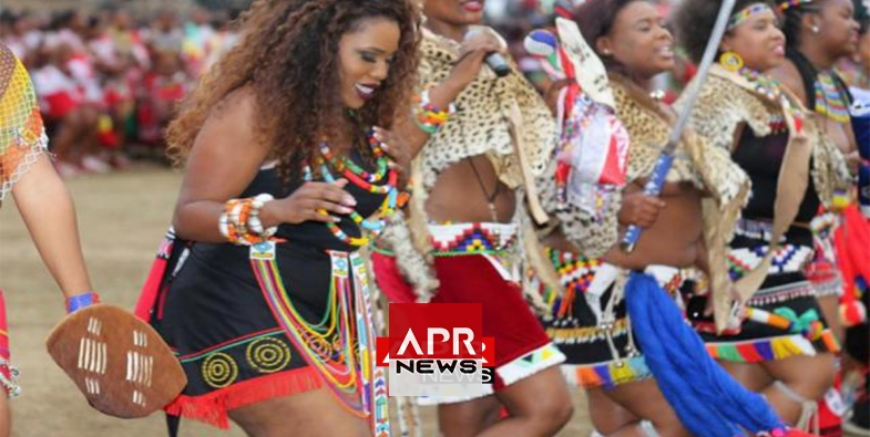 Not South african reed dance girls